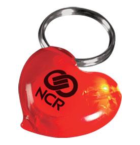 Heart Light Key Ring