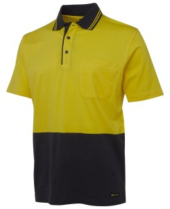 cotton hi vis polo shirts