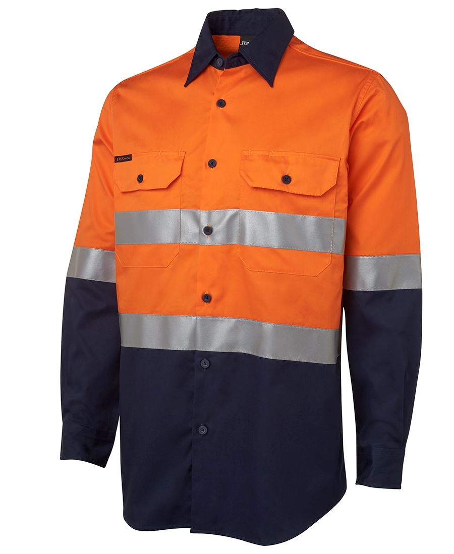 Promotional Hi Vis Cotton Work Shirt Bongo