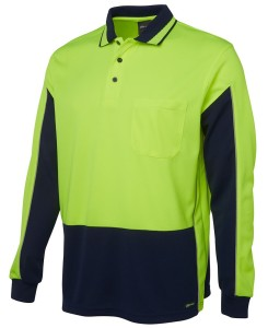 hi vis long sleeved pols