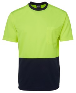 hi vis t-shirts lime