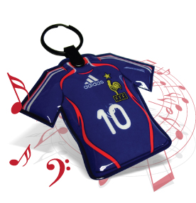 key rings with sound