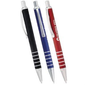 metal click pens