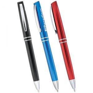 metal twist action pens