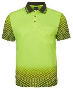 net design hi vis polo