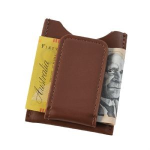 Cutter & Buck Money Clip Card Case Bongo