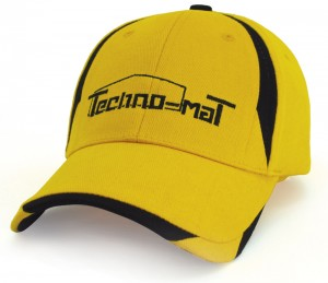 Panelled Baseball Caps Bongo