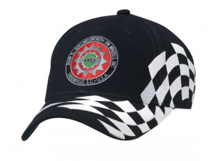 Raceway Flag Cap Bongo