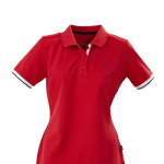 antreville ladies red polo