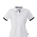 antreville ladies white polo