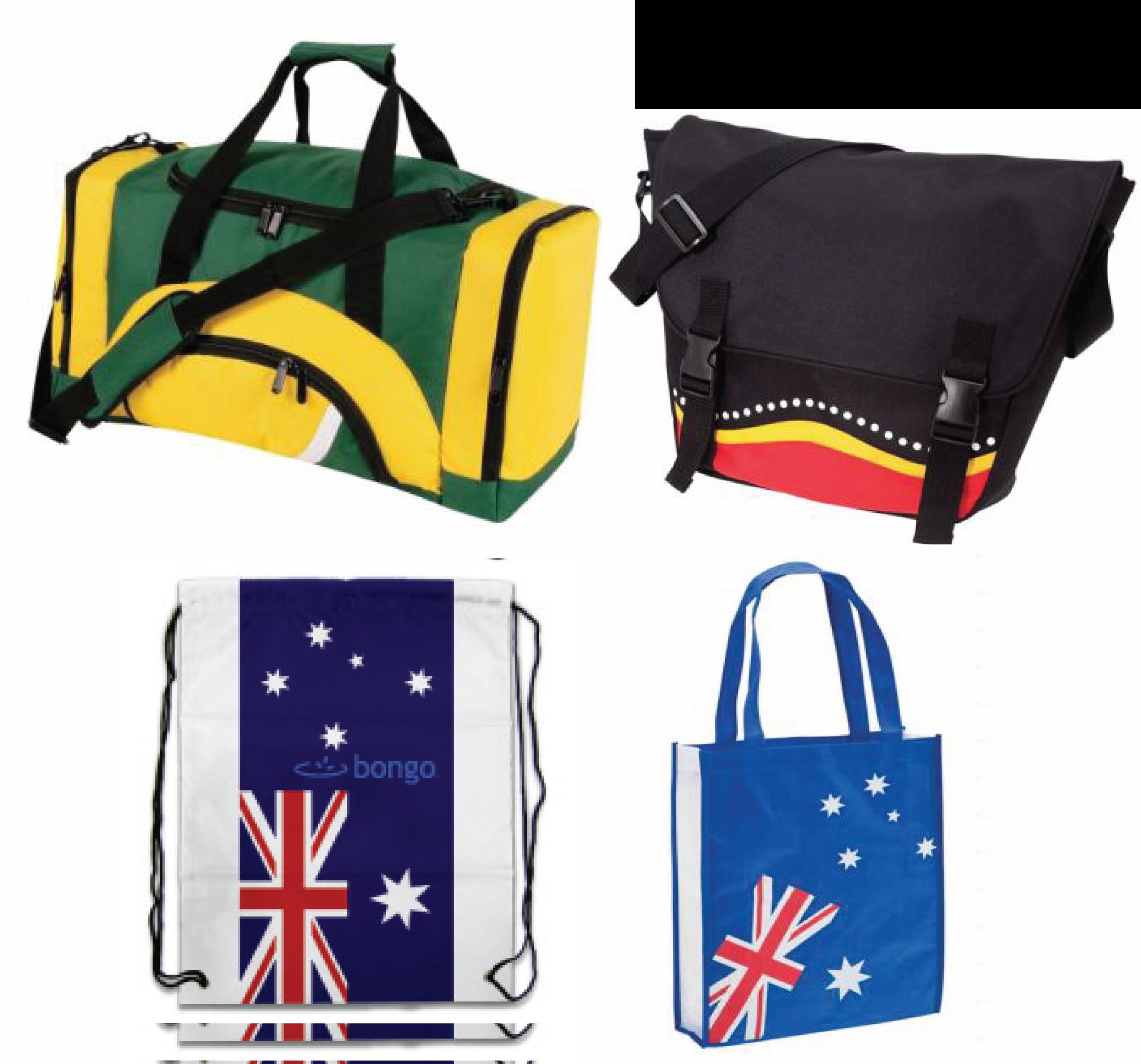 Australian Themed Bags