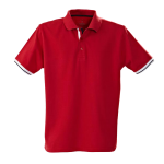 red anderson polo