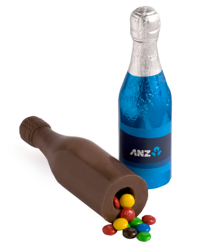 Champagne Bottles with Lollies