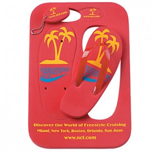 Promotional Thongs with Keyrings
