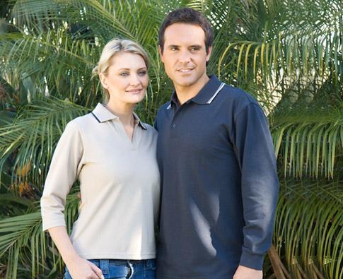 Standard Plus Long Sleeve Polo Shirt