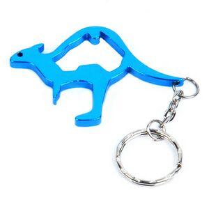 Kangaroo bottle opener keyring