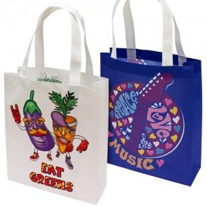 Colourful non woven bags