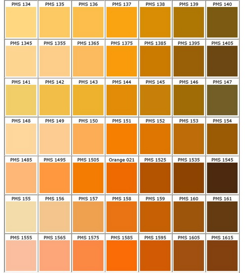 Pms Colour Chart Bongo