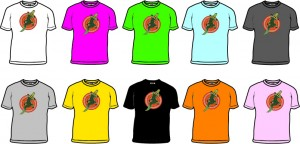Bongo Aboriginal Crocodile Design T-shirt - small images