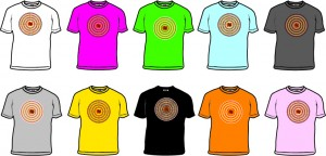 Bongo Aboriginal Dot Design - small images with colours