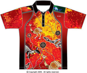Indigenous Animals Polo Shirt