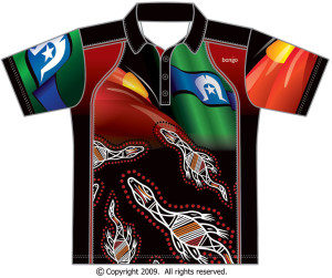 Indigenous Crocodile Polo Shirt