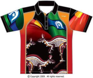 Indigenous Kangaroo Polo Shirt