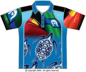 Indigenous Turtle Polo Shirt