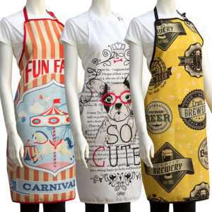 All Over Printed Aprons