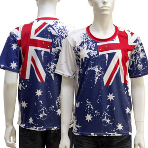 Australian Flag Shirts Bongo