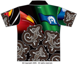 Frilled-Neck-Lizard-Polo-Bongo-back