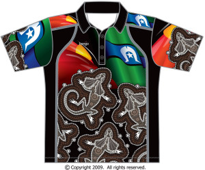 Frilled-Neck-Lizard-Polo-Bongo-front