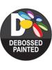 debossed painting bongo