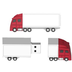 freight truck flash drive