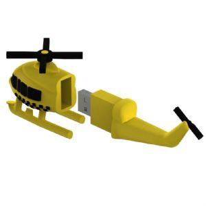 helicopter flash drives