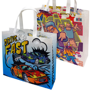 polyester printed bags