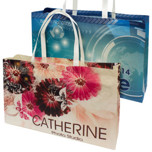 printed advertising bags