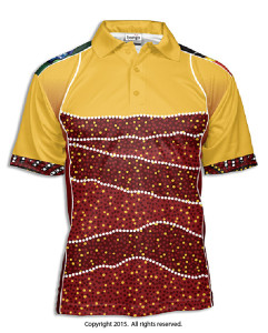 Indigenous Bamal Polo Shirt