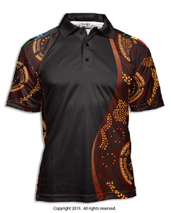Indigenous Barabung Polo Shirt