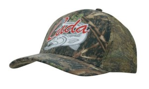Camouflage Cap with Camo Mesh Back