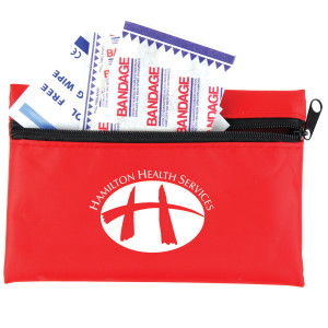 First Aid Zippered Pouch