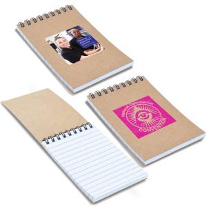 Spiral Cardboard Notebook