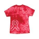 Awareness Ribbon Tie Dye T-shirts