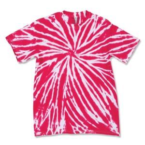 Contrast Tie Dye T-shirts
