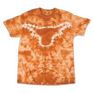 Longhorn Tie Dye T-shirts