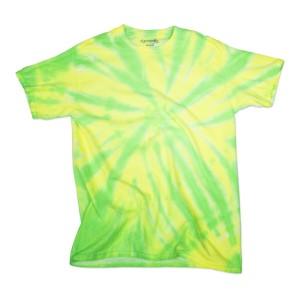 Neon Pinwheel Tie Dye T-shirts