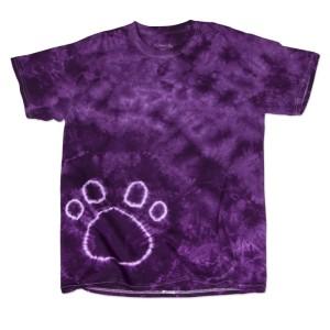 Paw Tie Dye T-shirts