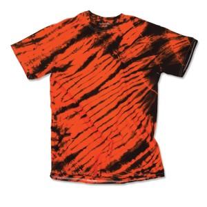 Tiger Stripe Tie Dye T-shirts