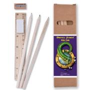 cardboard-box-stationery-set