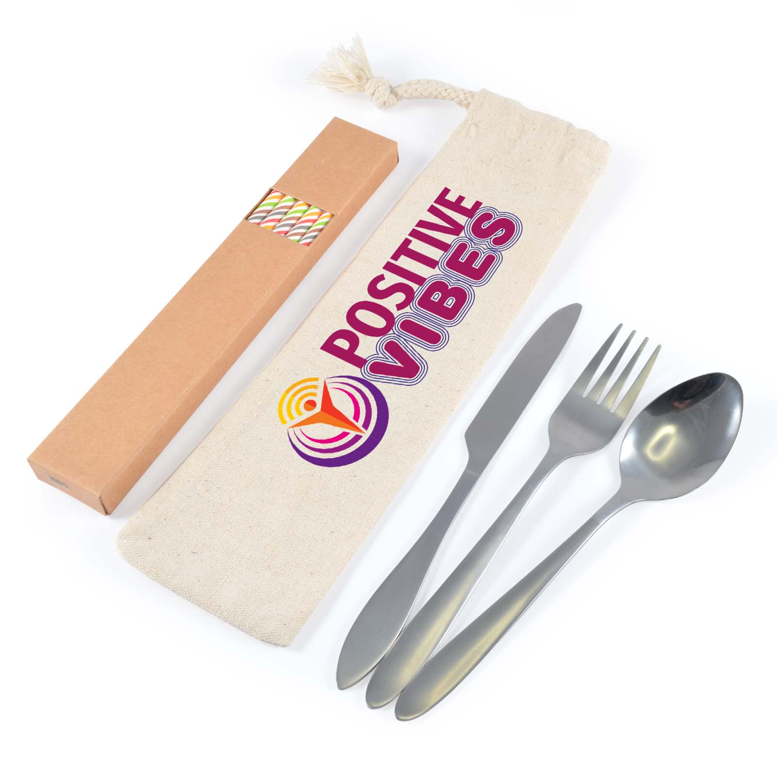Cutlery Sets and Straws